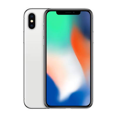 APPLE - iPhone X 64Go - Smartphone silver - Grade A