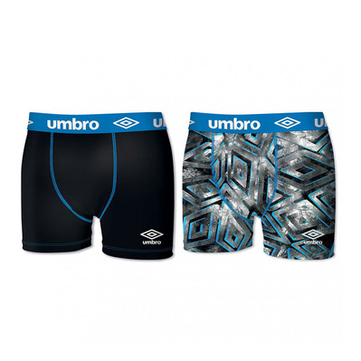 UMBRO - SUBC - Boxers x2 Men's - black/blue