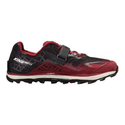ALTRA - KING MT 1.5 - Chaussures trail Homme red/black