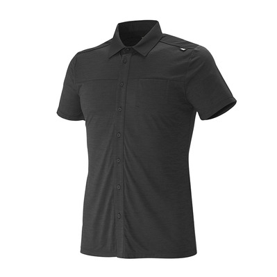 MILLET - CLOUD PEAK WOOL 2019 - Chemise Homme black
