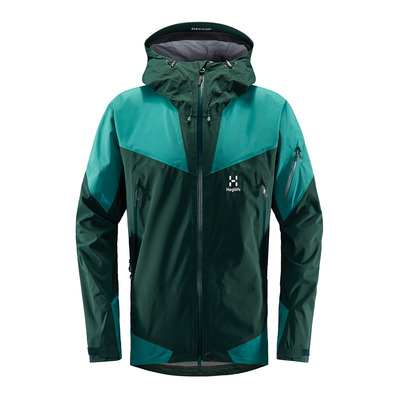 HAGLÖFS - Haglöfs ROC SPIRE Q - Jacket - Women's - mineral/willow green