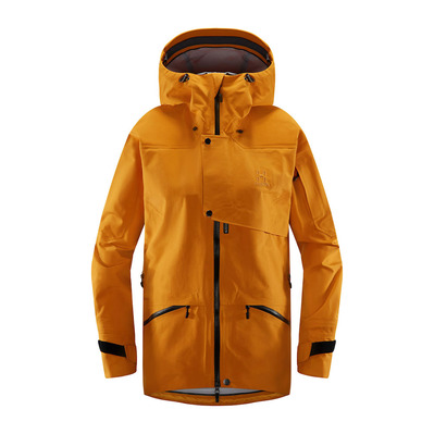 HAGLÖFS - Haglöfs KHIONE - Ski Jacket - Women's - desert yellow/true black