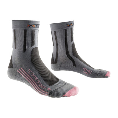 XSOCKS - X Socks EXTR LIGHT - Socks - Women's - grey/pink