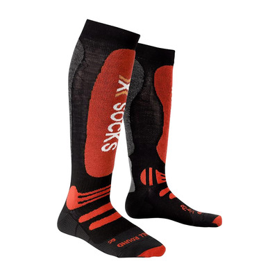 XSOCKS - X Socks SKI ALLROUND - Socks - black/red