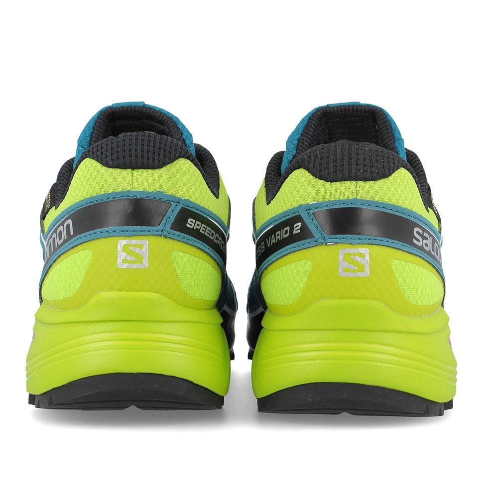 zapatos salomon amarillo xl