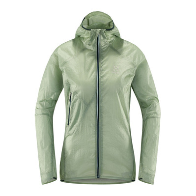 HAGLÖFS - Haglöfs LIM SHIELD Q HOOD - Jacket - Women's - blossom green