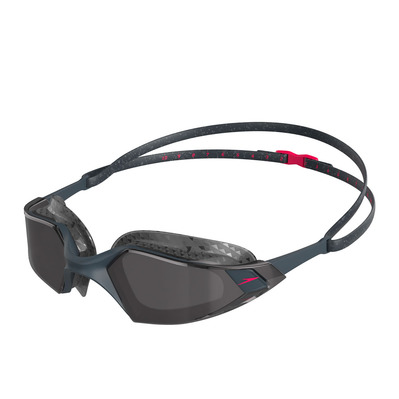 SPEEDO - AQUAPULSE PRO - Lunettes de natation grey/red