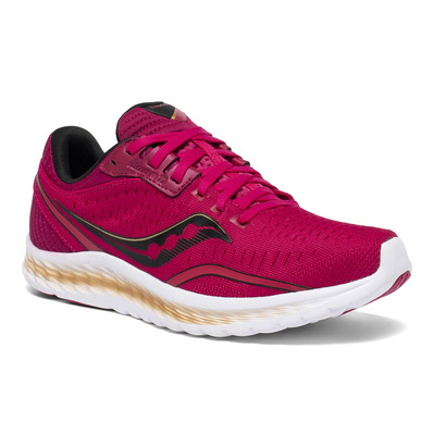 SAUCONY - KINVARA 11 - Chaussures running Femme berry/gold