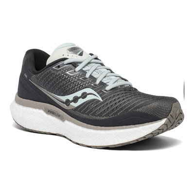 SAUCONY - TRIUMPH 18 - Chaussures running Femme charcoal/sky