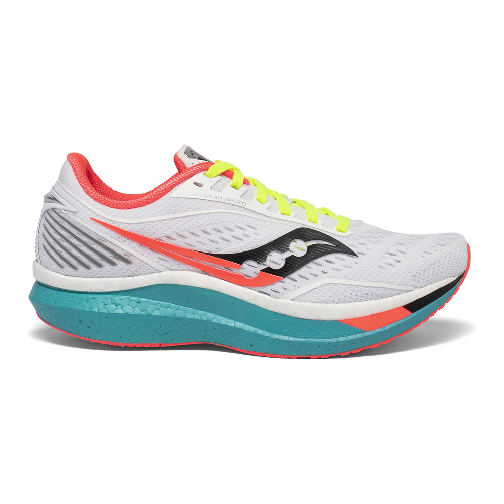 SAUCONY - Saucony ENDORPHIN SPEED - Zapatillas de running mujer white mutant