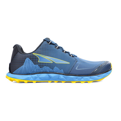 ALTRA - SUPERIOR 4.5 - Chaussures trail Homme blue/yellow
