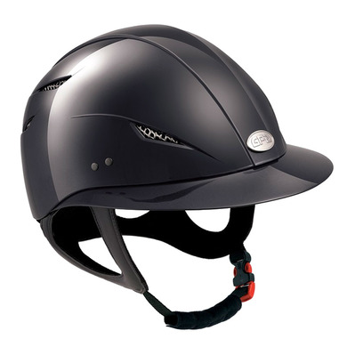GPA - LITTLE LADY - Casco mujer black glossy
