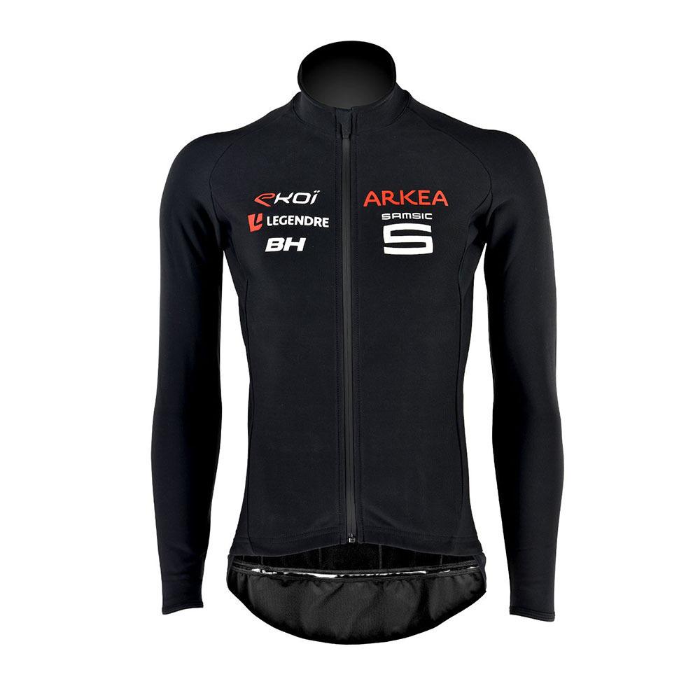veste homme pro team black cyclisme