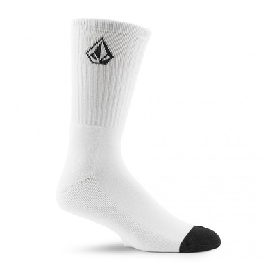 VOLCOM - FULL STONE - Chaussettes x3 Homme white