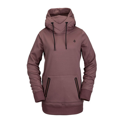 VOLCOM - SPRING SHRED - Sweat Femme rose wood