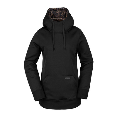 VOLCOM - YERBA P/OVER FLEECE - Sweat Femme black