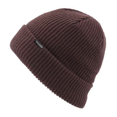 VOLCOM - POLAR LINED - Beanie - Women's - black/red