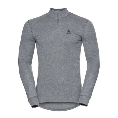 ODLO - ACTIVE WARM ECO HZ - Sweat Homme grey melange