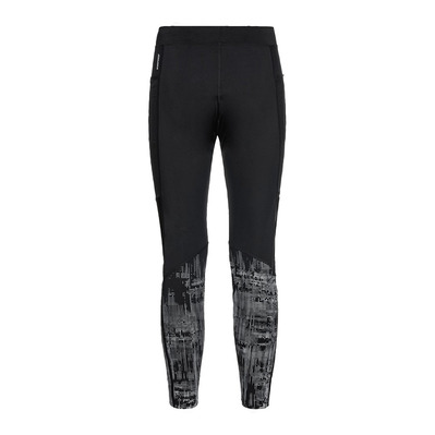 ODLO - Tights ZEROWEIGHT WARM REFLECTIVE Homme black - reflective graphic FW20