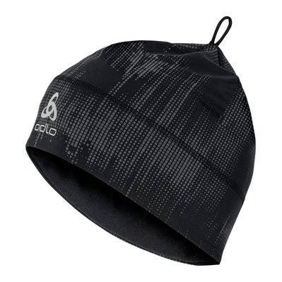 ODLO - POLYKNIT WARM - Berretto black/reflective graphic fw20