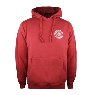 PURE JUICE - HUNTINGTON STAMP - Sudadera hombre antique red