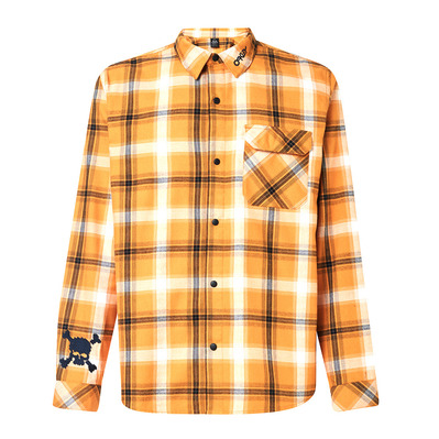 OAKLEY - TC EVERYWHERE FLANNEL - Camisa hombre gold yellow
