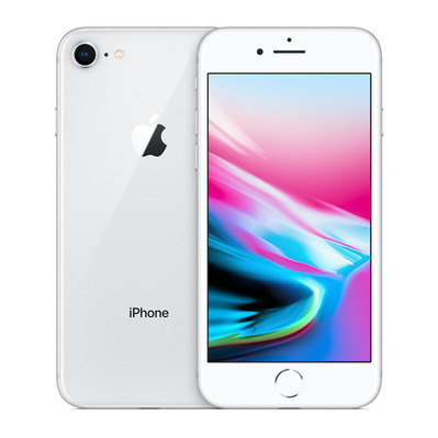 APPLE - - iPhone 8 256GB - silver - Grade A+