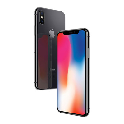 APPLE - - iPhone X 256GB - space grey - Grade A+