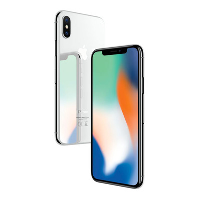 APPLE - - iPhone X 64GB - silver - Grade A+