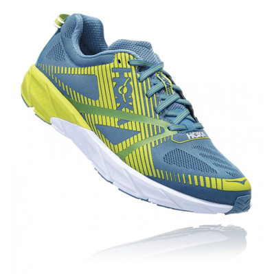 HOKA - TRACER 2 - Running Shoes - Men's - storm blue / lime green