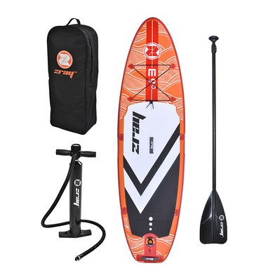 Z-RAY - EVASION 9' 2020 - Stand up paddle hinchable orange + accesorios