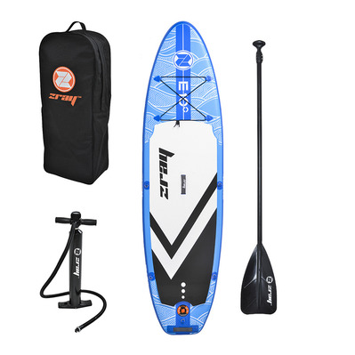 "Z-RAY - EVASION DELUXE 9'9"" 2020 - Stand up paddle hinchable blue + accesorios"
