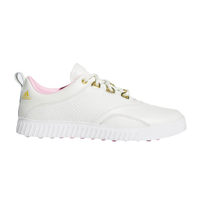ADIDAS - ADICROSS PPF - Chaussures golf Femme white/pink