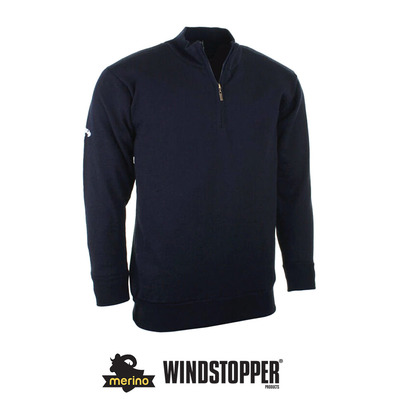 CALLAWAY - MERINO WDS - Pull Homme blue