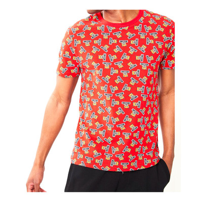 MOSCHINO - 1914_8126 - Tee-shirt Homme fantasia rosso