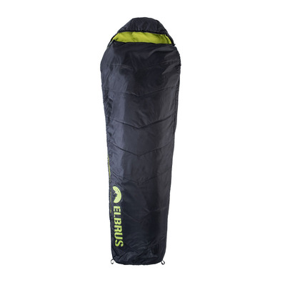 ELBRUS - CARRYLIGHT 800 +13° - Sleeping Bag - black/lime punch