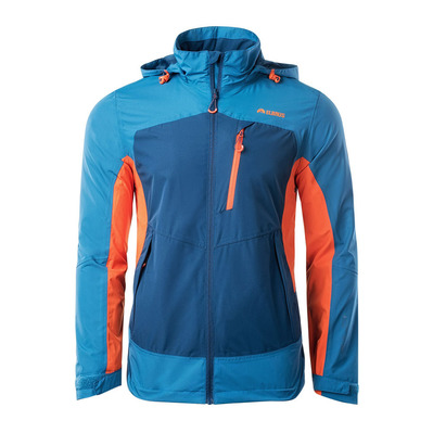 ELBRUS - CROSS - Jacket - Men's - blue steel/sailor/flame