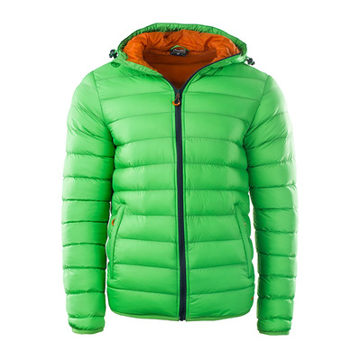 ELBRUS - FORSOL - Down Jacket - Men's - poison green/hawaiian sunset