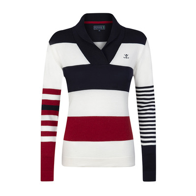 SIR RAYMOND TAILOR - SPARROW - Jumper - Women's - white/navy/red