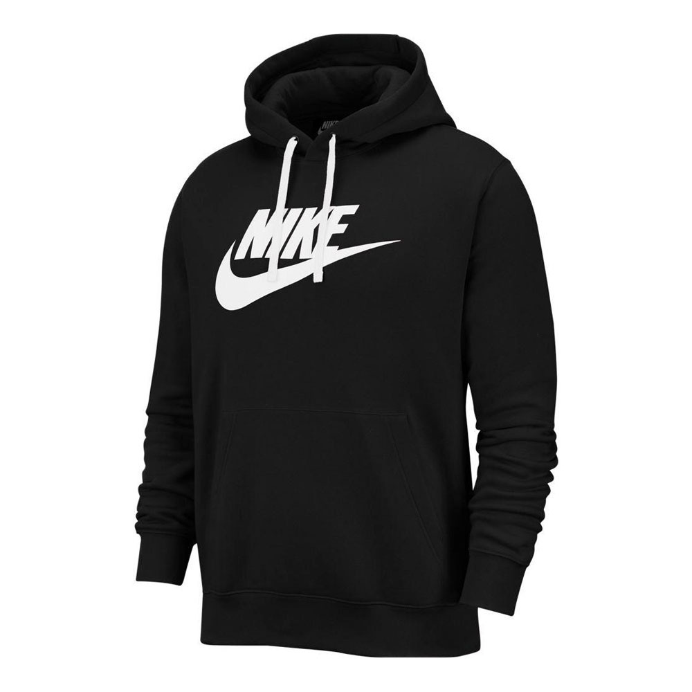NIKE Nike CLUB HOODIE PO BB GX Sweat Homme blackwhite