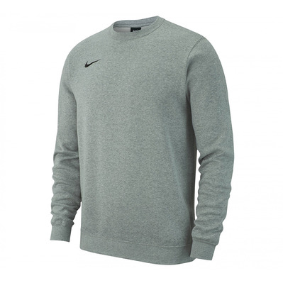 NIKE - CRW FLC TEAM - Sweat Homme grey/black