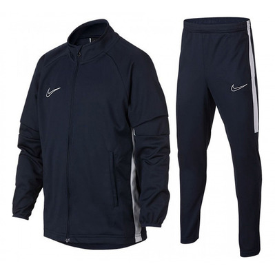 NIKE - DRY ACDMY K2 - Ensemble de survêtement Junior dark blue/white