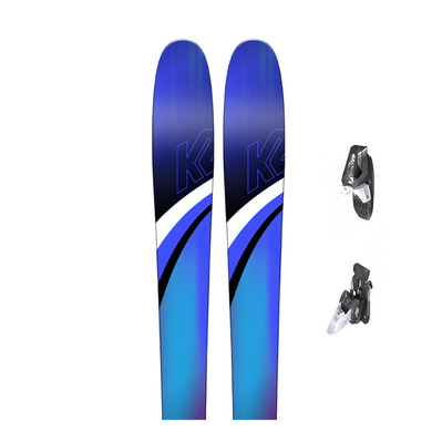 K2 - THRILLUVIT 85 - All Mountain Skis - Women's + Bindings - RX 12 B85 matt white