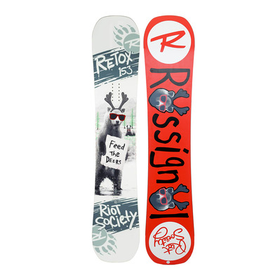 rossignol - RETOX 18 - Freestyle Snowboard - Men's - red