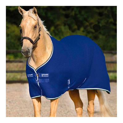 HORSEWARE - TECHNI WAFFLE - Manta de secado royal blue