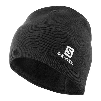 SALOMON - BEANIE - Bonnet black
