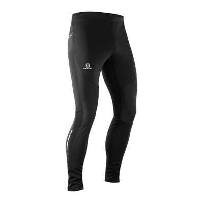 SALOMON - TRAIL RUNNER WS - Leggings - Men's - black