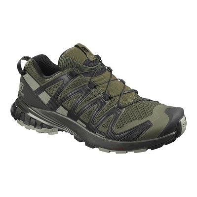 SALOMON - XA PRO 3D V8 - Zapatillas de senderismo hombre grape leaf/peat/shadow