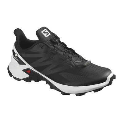 SALOMON - SUPERCROSS BLAST - Trail Shoes - Men's - black/wht/black