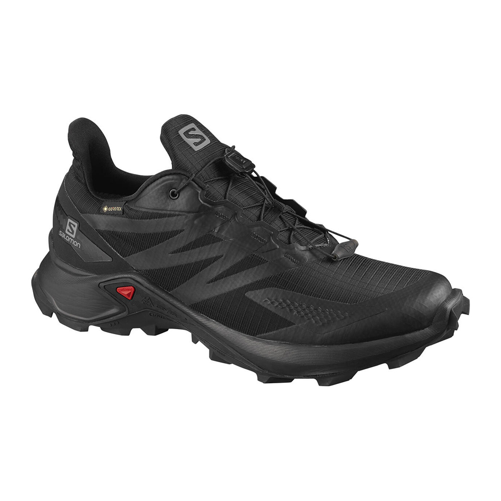 SALOMON - Salomon SUPERCROSS BLAST GTX - Chaussures trail Homme black/black/black